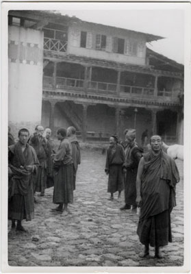 Abbot and Monks of Kargyu Monastery