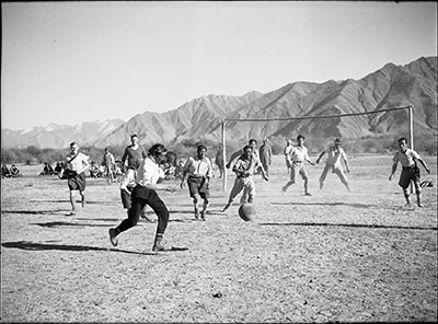 Football match in Lhasa