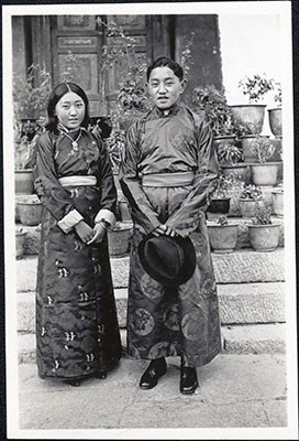 Dundul Namgyal and 'Kate' Tsarong