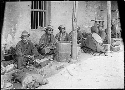 Blacksmiths at Lhasa Arsenal