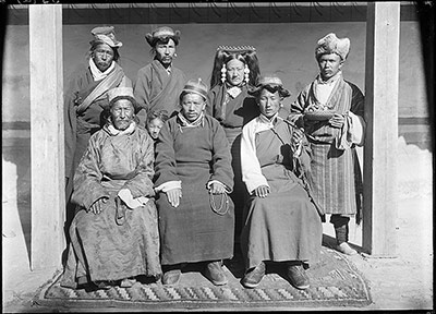 Members of Mission from Ladakh