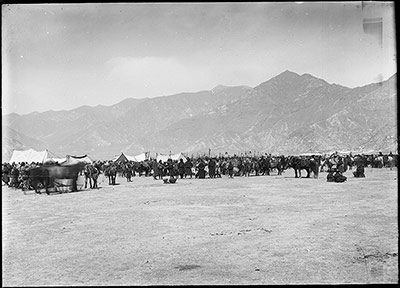 Competitors at Trapchi Tsisher March 1921