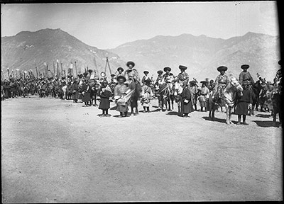 Officials at Trapchi Tsisher March 1921