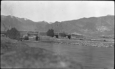 Bridge over Kyichu near Lhasa