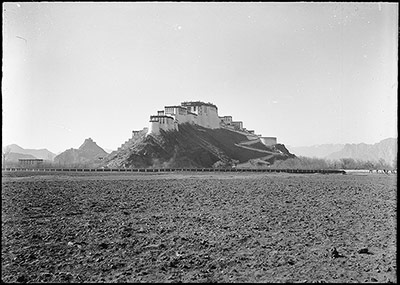 Potala Palace from the northeast