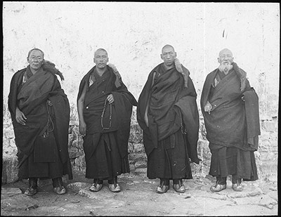 The four Abbots of Sera Monastery