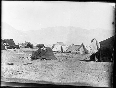 Tents of Changpa people outside Lhasa