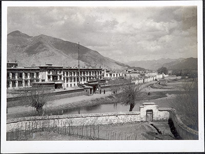 The Gyume Dratsang  building in Lhasa
