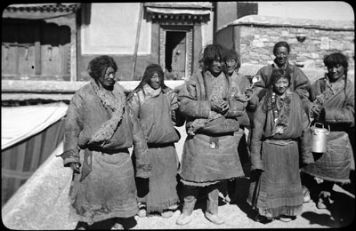 Khampa pilgrims visiting the Potala