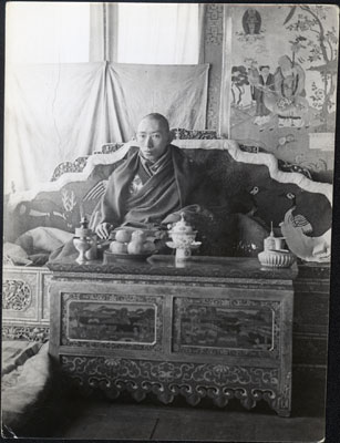 Reting Rinpoche in Shide Drokhang