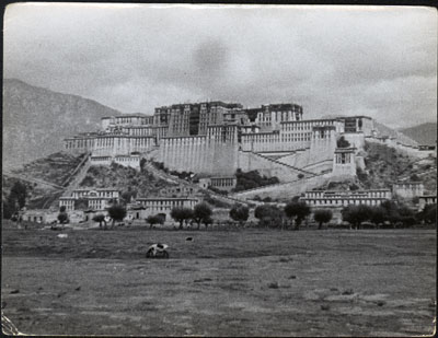 View of Potala from south
