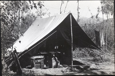 Nepean's tent with wireless