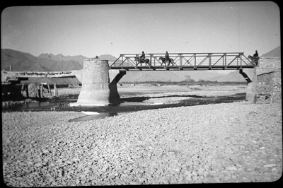 Iron bridge near Lhasa
