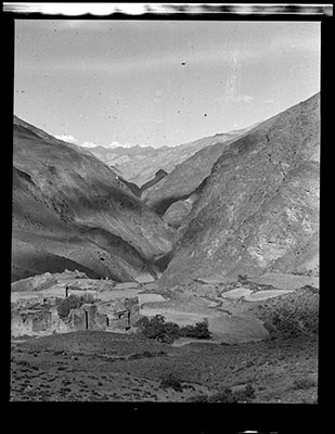 Settlement of Lu, west of Chaparchu gorge