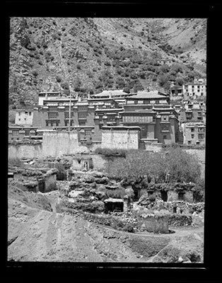 Tsurphu monastery west of Lhasa