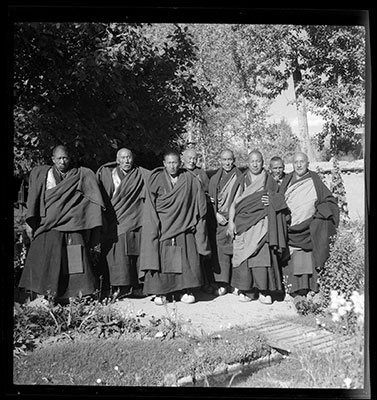The Shengo and Abbots of Drepung monastery