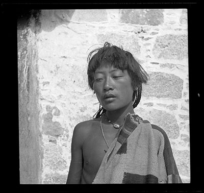 Young Changpa nomad