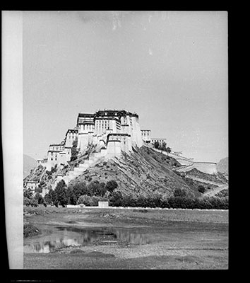 Potala from the east