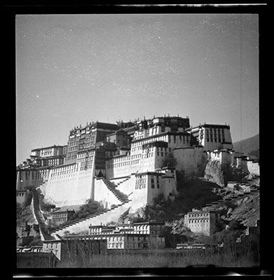 Potala from the south east