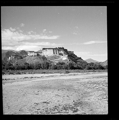 Potala from the north west