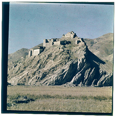 Fort of Gyantse dzong at Gyantse
