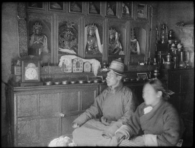 Yatung Oracle and his wife at home