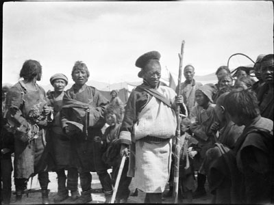 Policeman at Gyantse Gun and Arrow competition