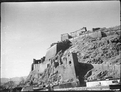 View of west end of Gyantse Dzong
