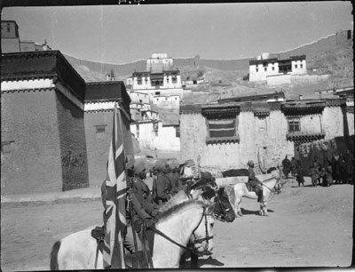 Mounted Escort from Frontier Force at Gyantse