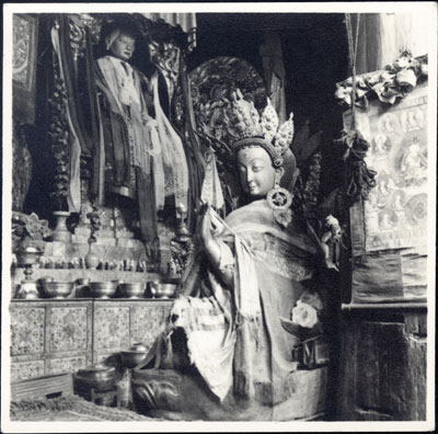 Images in Sakya Monastery