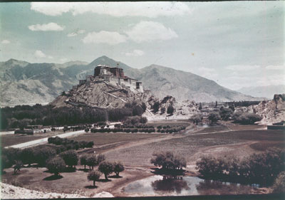 Potala from the south west