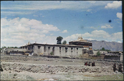 Tradrug temple in the Yarlung Valley