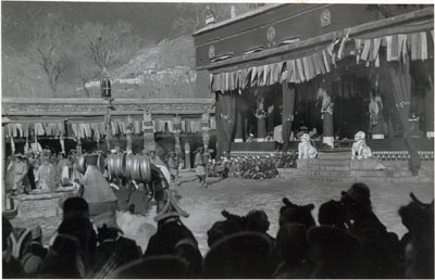 New Year ceremony at Nechung